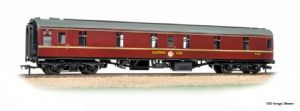 Graham Farish 374-925A BR Mark 1 Sleeping car, 2nd Class, Maroon Livery